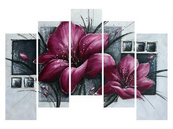 Tablou modern cu flori (K012355K12590)