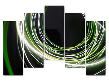 Obraz zelených čiar (V020054V12590)
