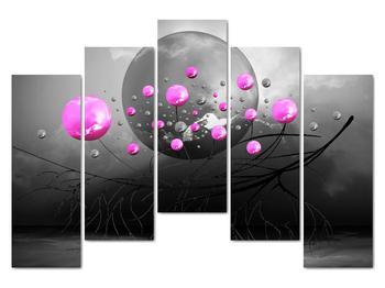 Obraz ružových gulí (V020105V12590)
