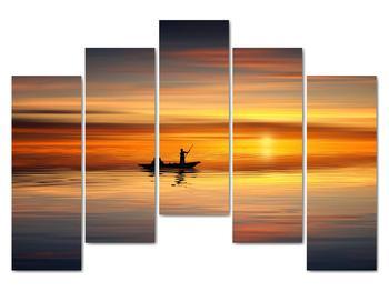 Obraz - plavba na loďke (V020168V12590)