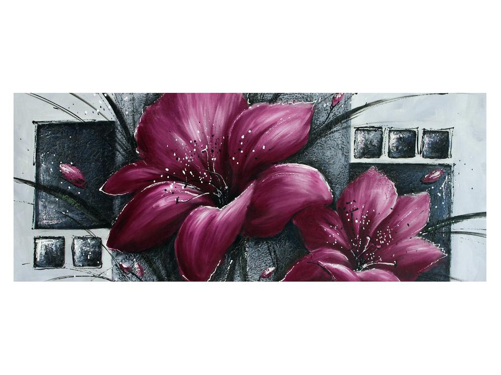 Tablou modern cu flori (K012355K14558)