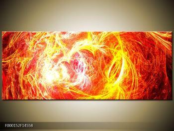 Abstraktní oranžový obraz (F000152F14558)