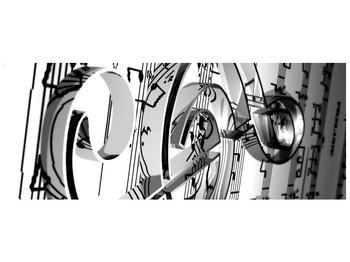 Moderní obraz houslového klíče (F000206F14558)