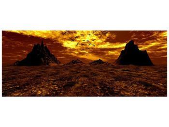 Obraz vyprahlého údolí (F000287F14558)