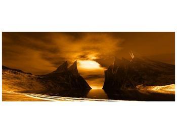 Obraz skály a pláže (F000300F14558)
