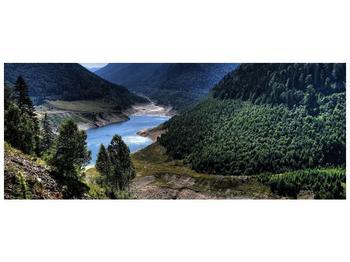 Obraz řeky a hor (F000615F14558)