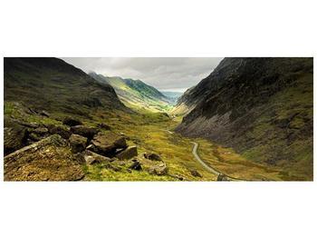 Obraz cesty uprostřed hor (F000621F14558)