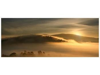 Obraz hor v mlze (F001451F14558)