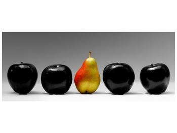 Obraz dvou jablek a hrušky (F001587F14558)
