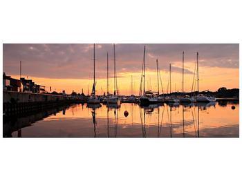 Obraz přístavu (F001605F14558)