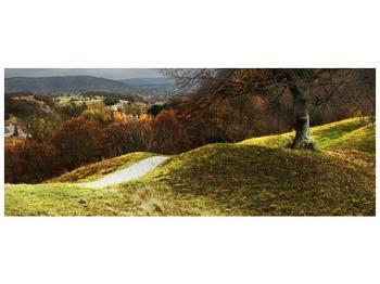 Obraz podzimního pahorku (F001650F14558)