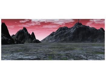 Obraz skalnaté přírody (F001712F14558)