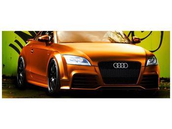 Obraz oranžové Audi (F002351F14558)