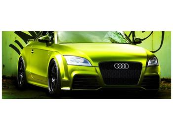 Obraz zelené Audi  (F003676F14558)