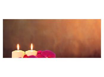 Tablou relaxant cu lumănâri și orhidee (K011120K14558)