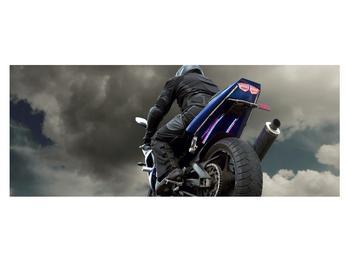 Tablou cu motociclist cu motocicletă (K011302K14558)