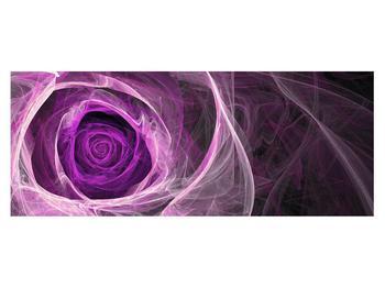 Moderný obraz fialovej ruže (K011482K14558)