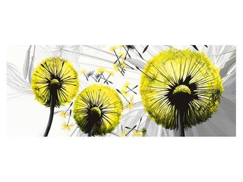 Tablou galben cu păpădii (K014028K14558)