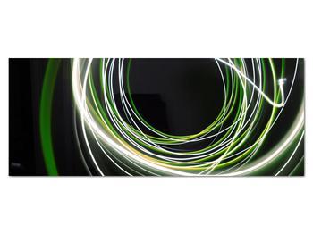 Obraz zelených čiar (V020054V14558)