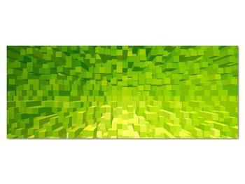 Obraz žlutozelených kostiček (V020057V14558)