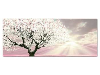 Růžový obraz stromu (V020058V14558)