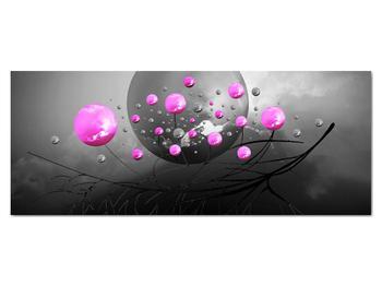 Obraz ružových gulí (V020105V14558)