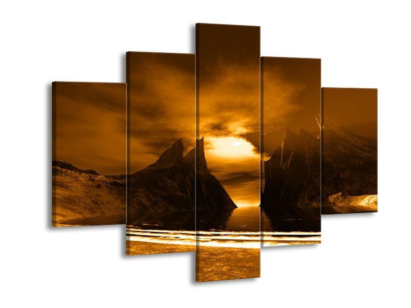 Obraz skály a pláže (F000300F150105)