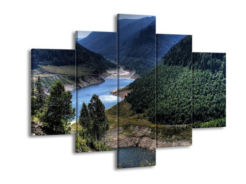 Obraz řeky a hor (F000615F150105)