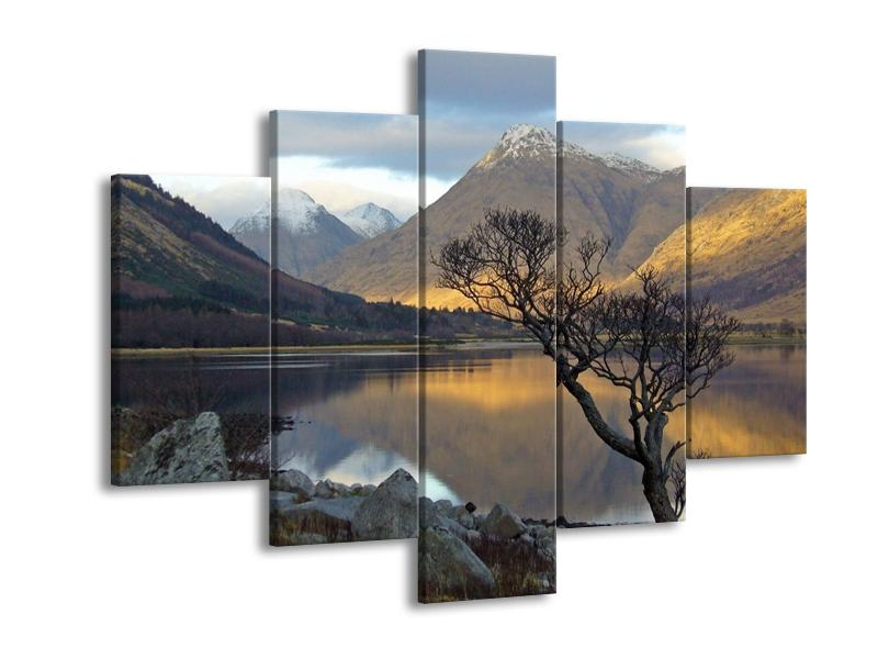 Obraz hor u jezera (F000686F150105)