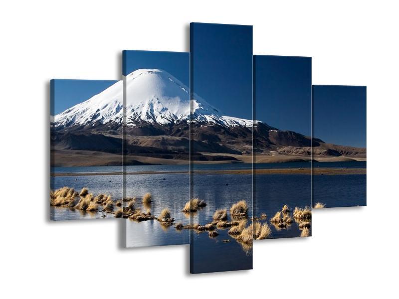Obraz zasněžené hory (F000974F150105)