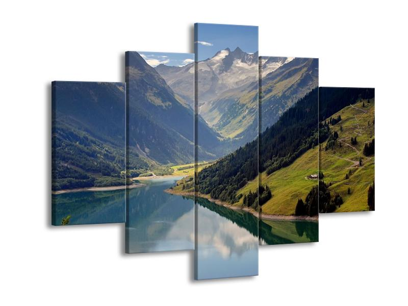 Obraz horského údolí (F001494F150105)