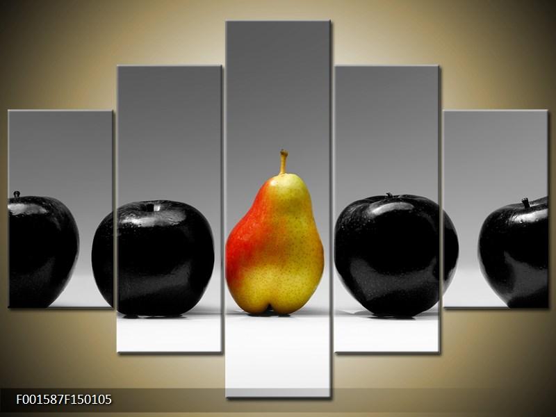 Obraz dvou jablek a hrušky (F001587F150105)