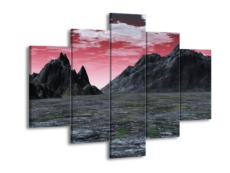 Obraz skalnaté přírody (F001712F150105)