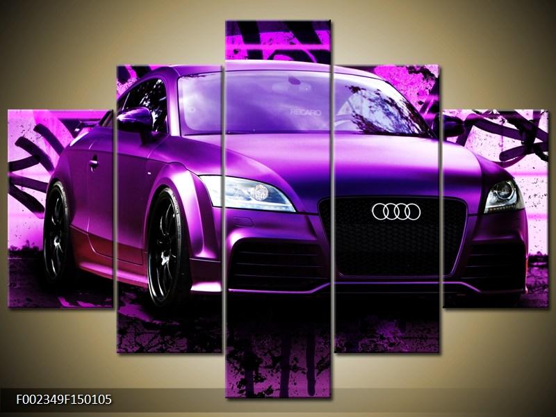 Obraz fialové Audi (F002349F150105)
