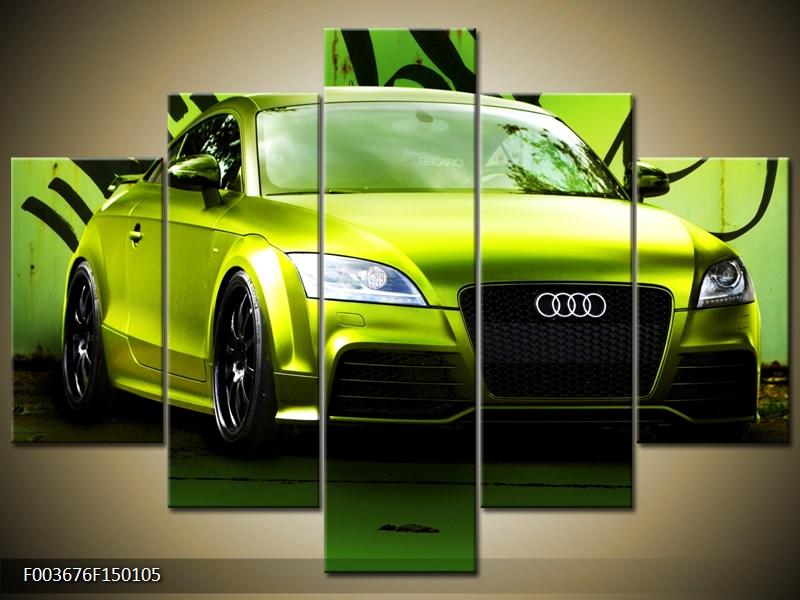 Obraz zelené Audi  (F003676F150105)