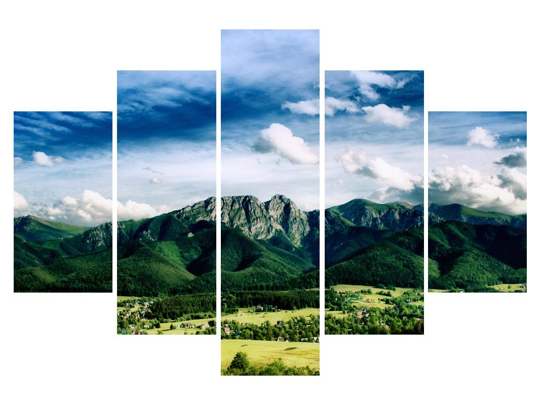 Slika planinskog krajolika (K010098K150105)