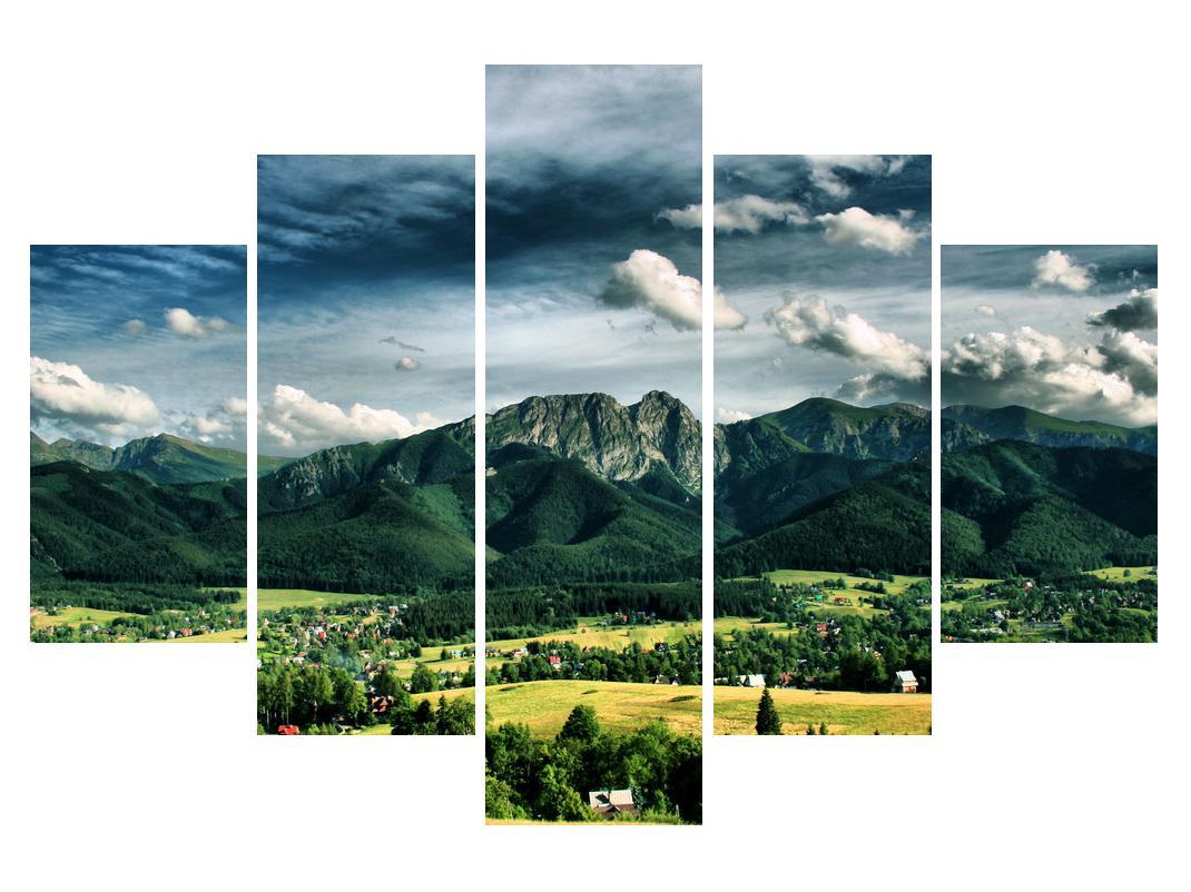 Slika planinskog krajolika (K010215K150105)