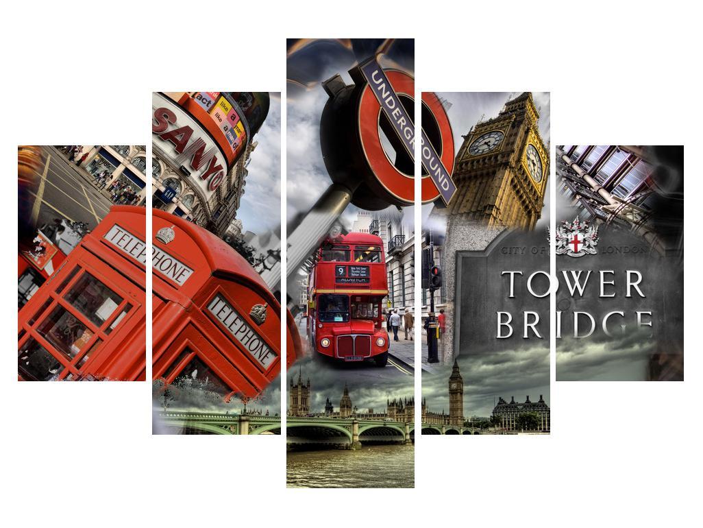 Sastavljena slika - ikone Londona (K010737K150105)