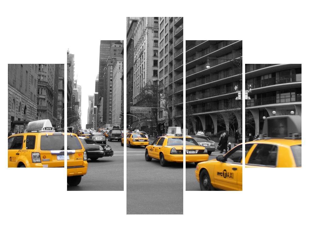 Slika živahnog gradskog prometa (K010787K150105)