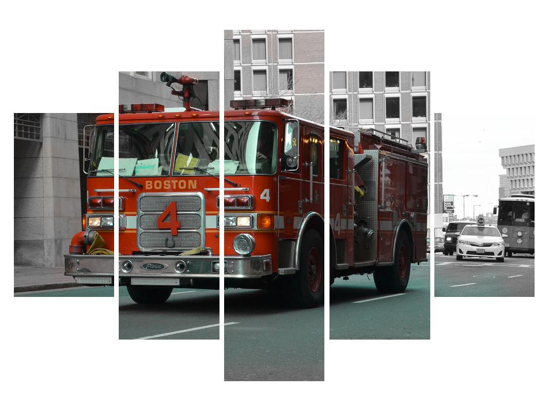 Slika vatrogasnog vozila (K010957K150105)