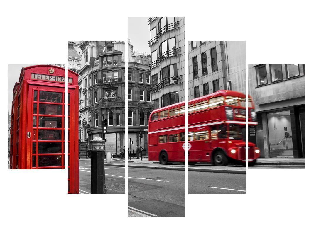 Slika londonske telefonske govornice (K011222K150105)