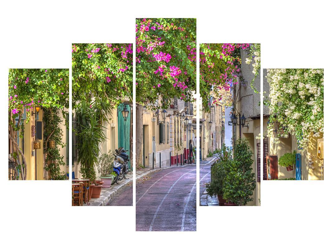 Slika mediteranske uličice poleti (K011282K150105)