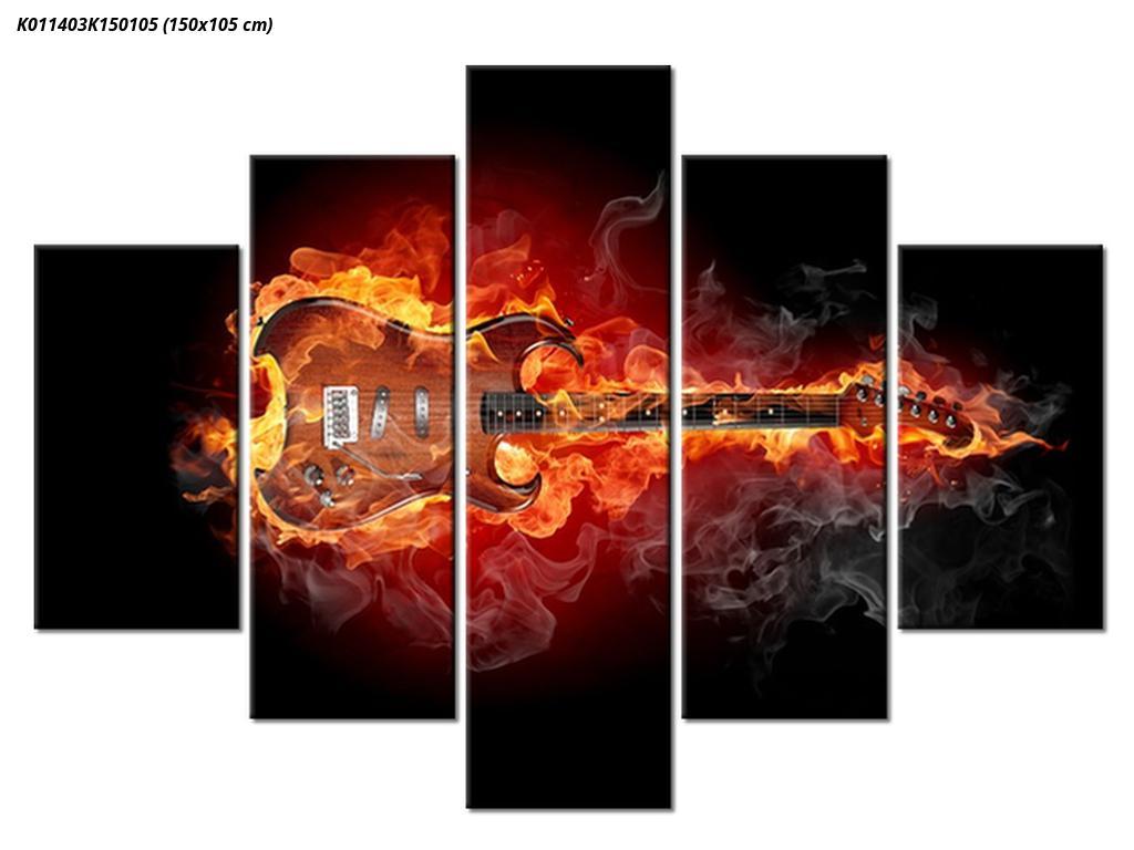 Slika kitare v ognju (K011403K150105)
