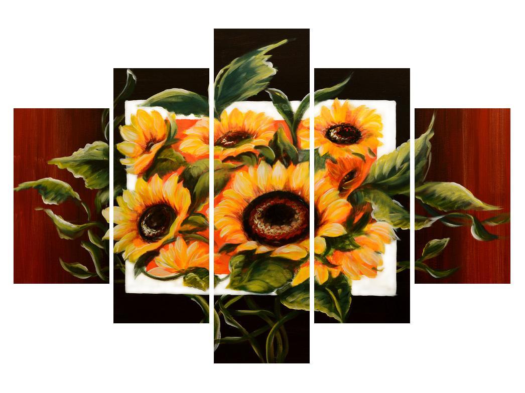 Obraz slunečnic (K011496K150105)