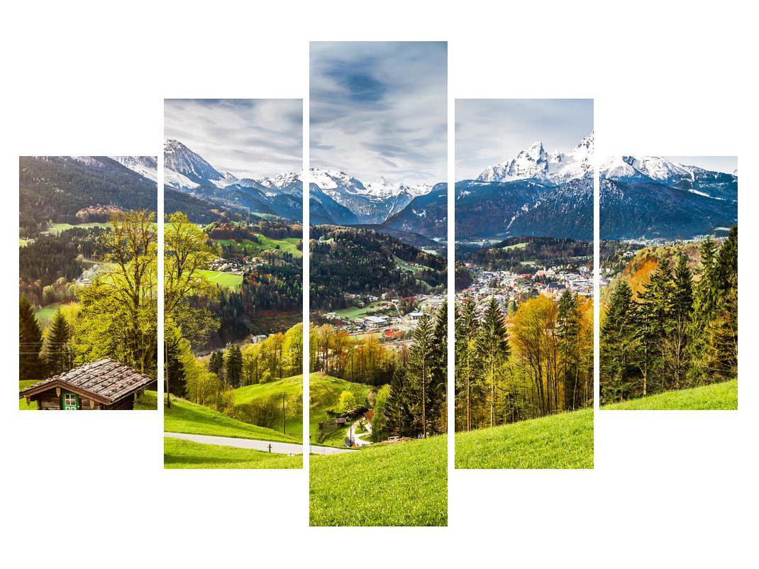 Slika planinskog krajolika (K011867K150105)