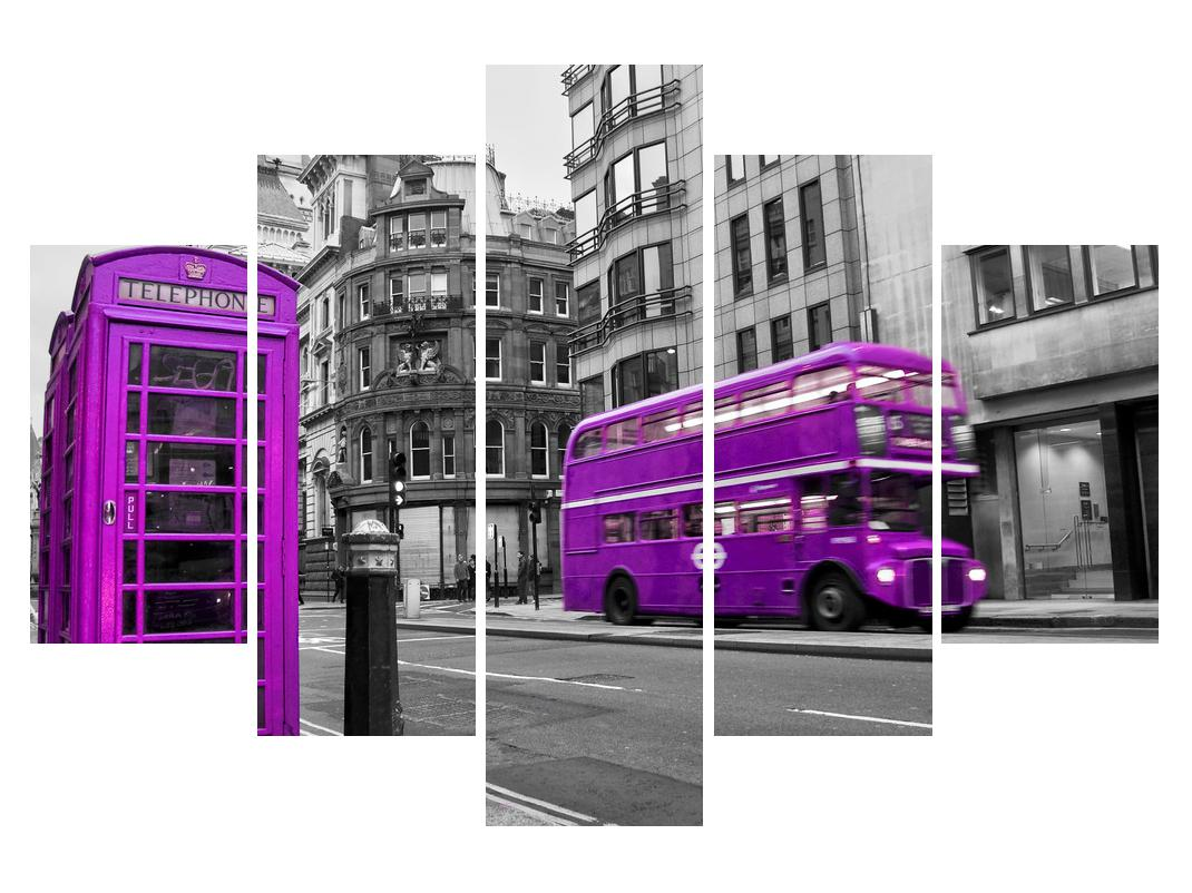 Slika Londona u ljubičastim bojama (K011881K150105)