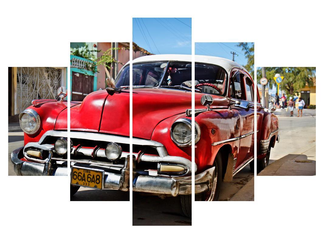 Slika starog američkog automobila (K012023K150105)