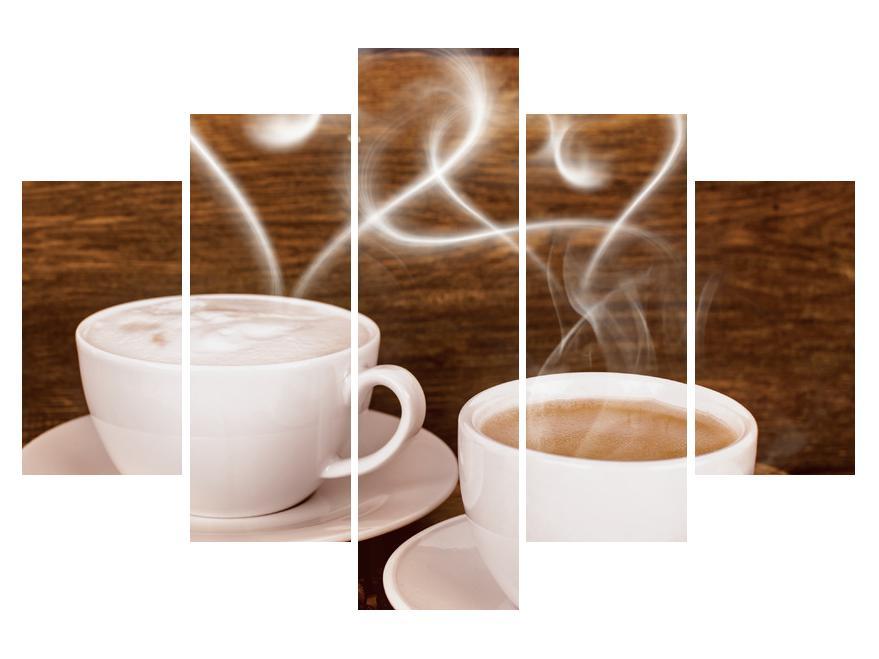 Slika skodelic s kavo (K012418K150105)