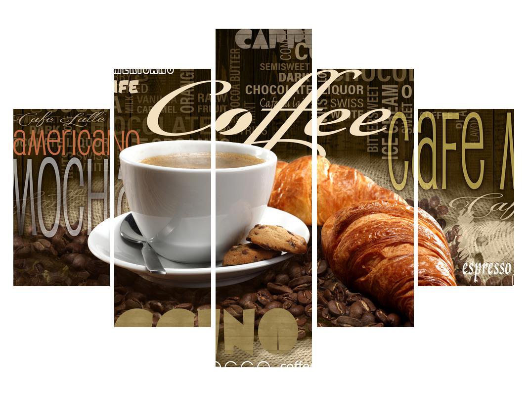 Slika kave i kroasana (K014725K150105)