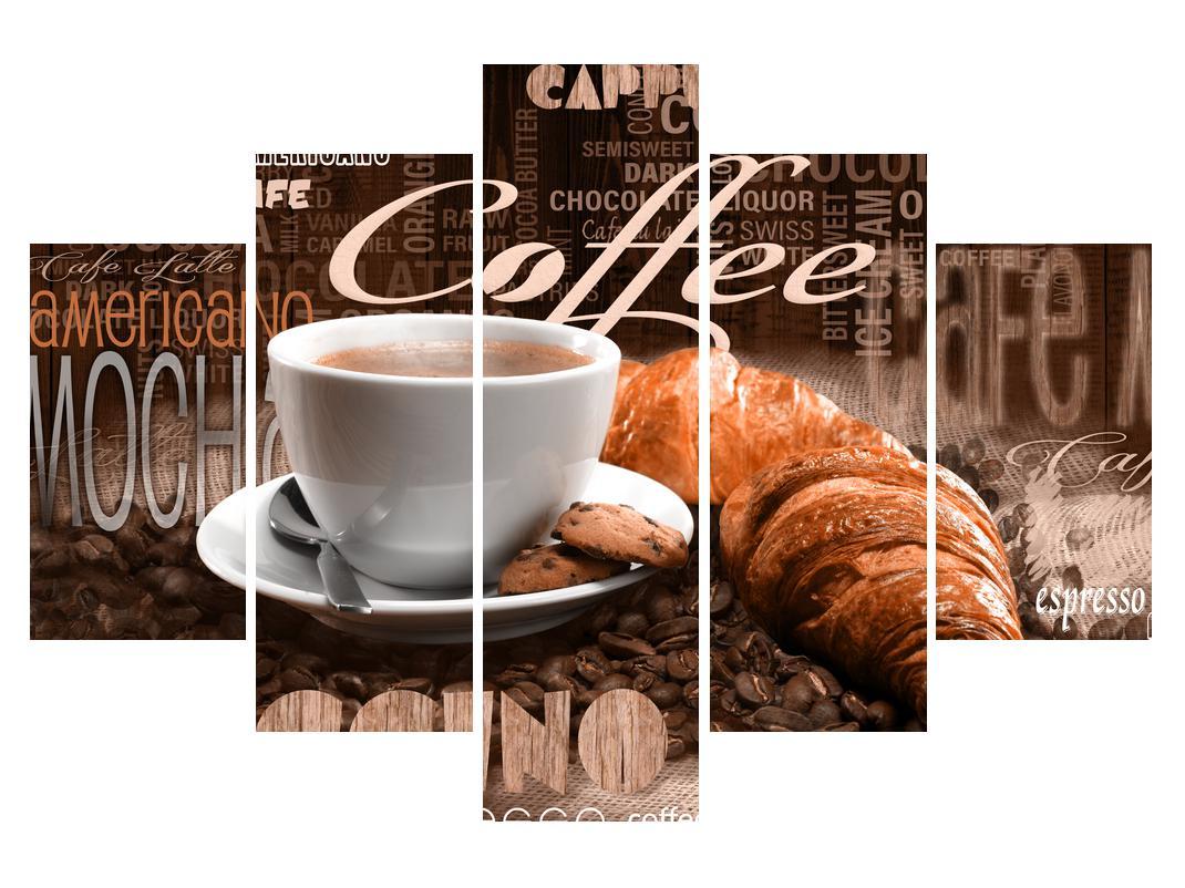 Slika kave i kroasana (K014740K150105)